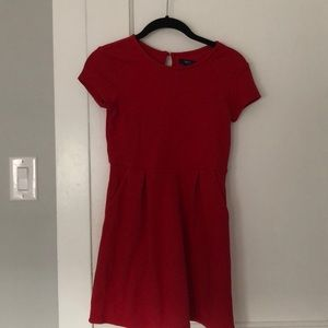 Gap girls red dress